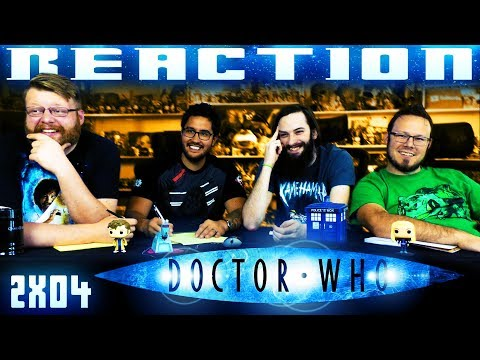 """Doctor Who 2x4 REACTION!! """"The Girl in the Fireplace"""""""