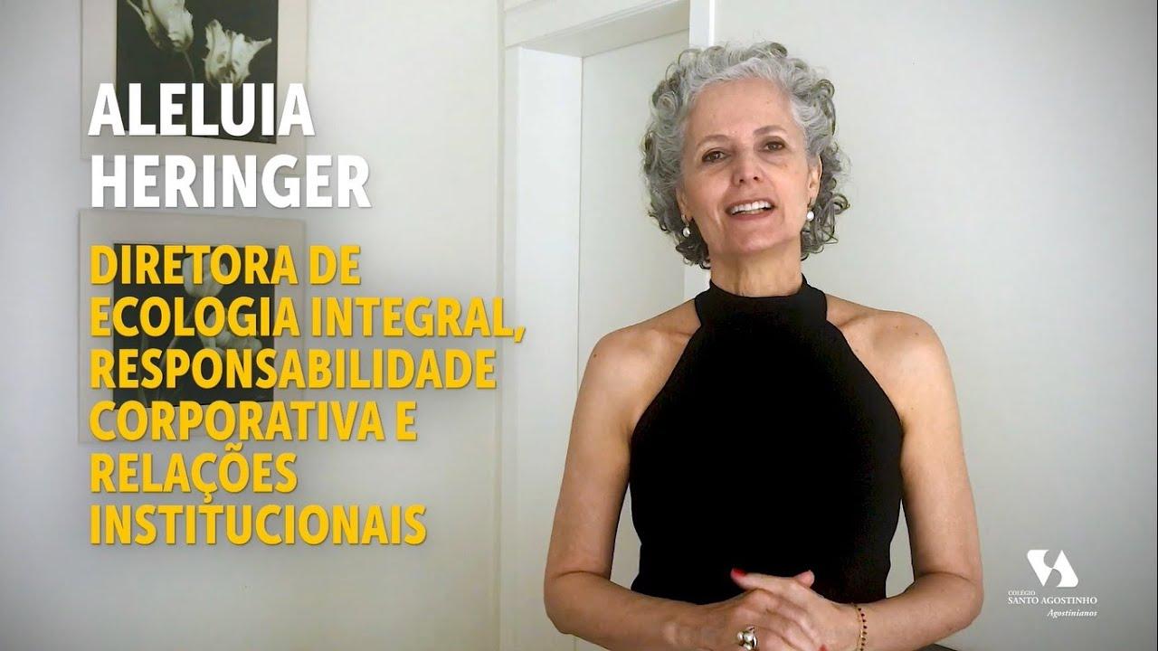 Aleluia Heringer - Diretora de Ecologia Integral, Resp. Corporativa e Relações Institucionais