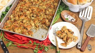 Ultimate Family Style Stuffing by Laura in the Kitchen
