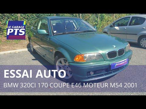 Test: BMW 320CI Coupé E46 M54 France