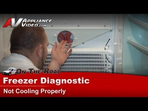 Kenmore Freezer Diagnostic – Not Cooling Properly – 106724240