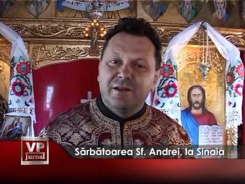 Sărbătoarea Sf. Andrei, la Sinaia