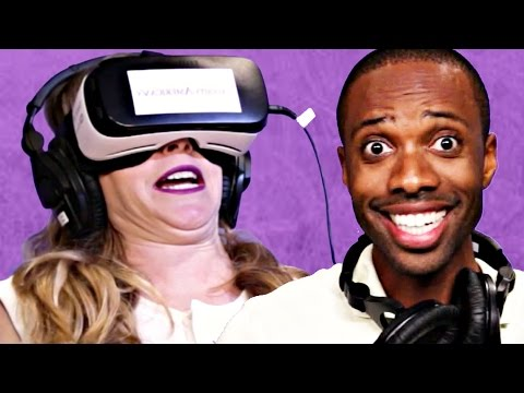 People Try Virtual Reality Porn For The First Time