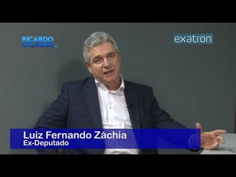 Ricardo Orlandini entrevista o ex-deputado Luiz Fernando Záchia, num bate-papo sobre futebol, política, eleições e tecnologia.