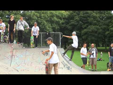 Palace / Polar Skateboards Hyde Park BBQ Jam
