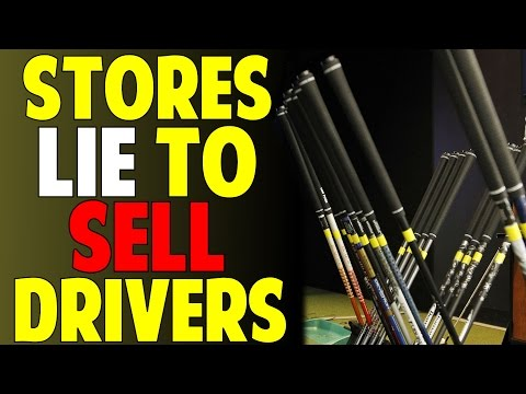 Golf Stores Are Lying to Sell You Drivers