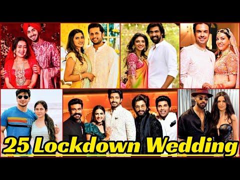 25 Indian Celebrities Who Got Married In 2020   Lockdown Wedding