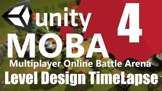 MOBA Level Design Timelapse - Part 1