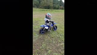 7. 4 year old on 2018 pw50 at redricks mx