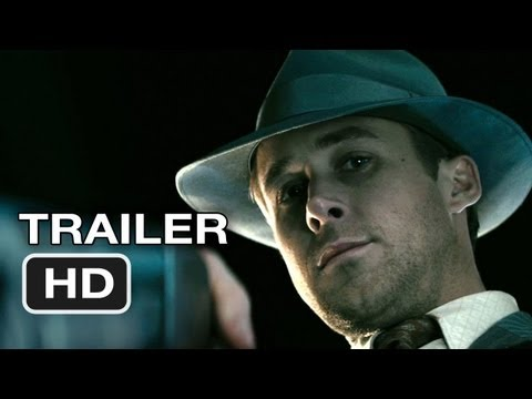 Video: Gangster Squad Official Trailer Starring Ryan Gosling, Emma Stone