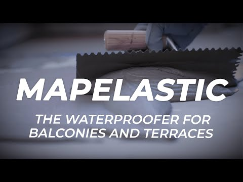 MAPEI: Mapelastic - The waterproofer for balconies and terraces