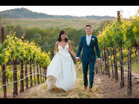 Sbragia Family Winery Wedding Photos
