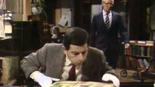 Mr Bean - The Library