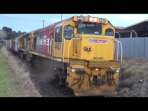 train at wanganui suffers from wet weather symdrome 17.4.14part one