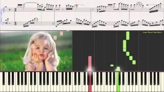 Joie de Vivre (Радость жизни) - George Davidson (Ноты для фортепиано) (piano cover)