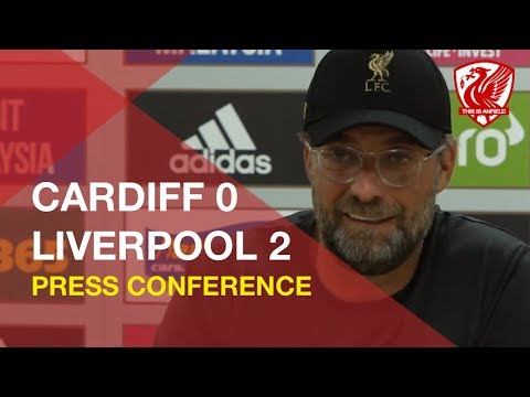 Cardiff 0-2 Liverpool | Jurgen Klopp Press Conference