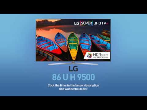 LG 86UH9500 Super UHD 4K HDR Smart LED TV - 86