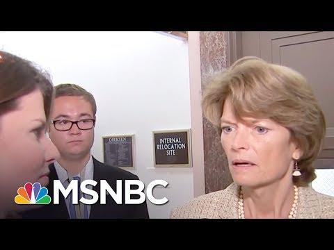 Donald Trump Goes After GOP Senators Who Voted Against Health Bill | MSNBC