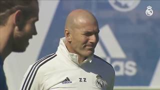 LIVE | Zidane and Real Madrid train before Celta match!