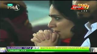 Last Over Lahore Qalandars vs Quetta Gladiators Highlights PSL T20 Match 18