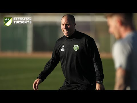 Video: Timbers in Tucson | Giovanni Savarese leads the first training session of 2018