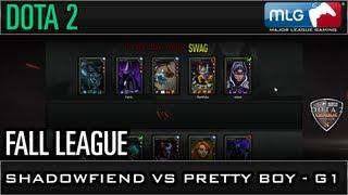 Fall League: Shadowfiend vs Pretty Boy Game 1