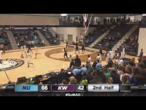 Northwood University Men's Basketball Highlights - vs. Kentucky Wesleyan (12/20/15)