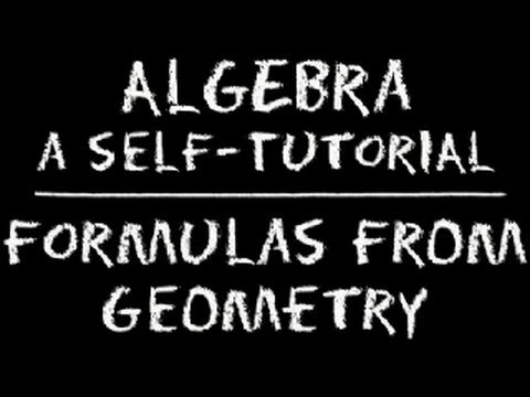 geometry - This lesson consists of providing you with a basic review of the formulas from geometry you will most likely encounter in algebra (and other math classes lik...