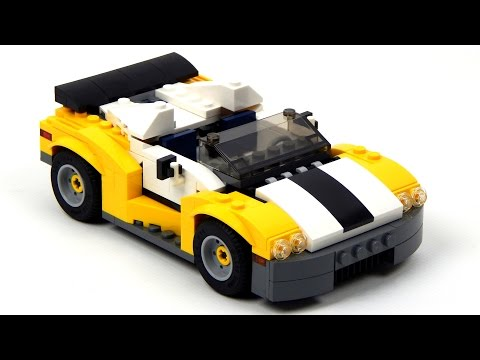 Lego Creator 31046 Fast Car Lego Speed Build