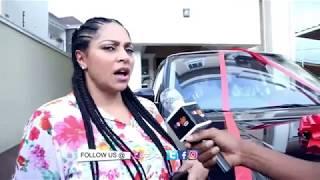 Peter Okoye aka Mr P surprises his wife Lola Omotayo-Okoye with a Range Rover