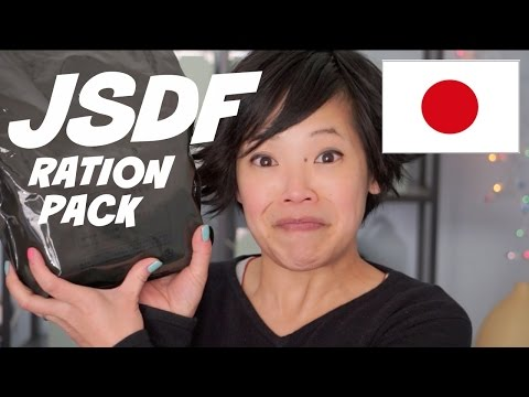 Emmy Eats a Japanese Self-Defense Forces Ration Pack (JSDF)