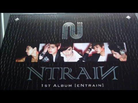 Unboxing Ntrain 엔트레인 1st Mini Album eNtrain (видео)