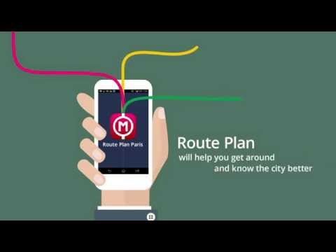 Paris Metro app: Route Plan - Offline Map and Metro Route Finder for Android