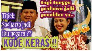 Video Kode Titiek Soeharto akan jadi ibu negara jika Prabowo menang pilpres- berita terbaru hari ini MP3, 3GP, MP4, WEBM, AVI, FLV Juni 2019