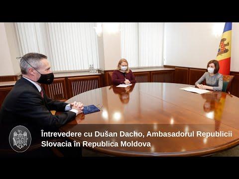Президент Майя Санду: «Словакия остается надежным сторонником нашей страны на европейском пути»