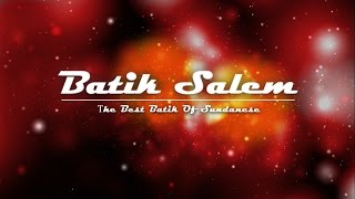 Menjelaskan tentang pembuatan batik tulis Salem, sejarah batik Salem, berbagai motif batik Salem dan produk batik Salem. ---Semua data-data dalam video ini ...
