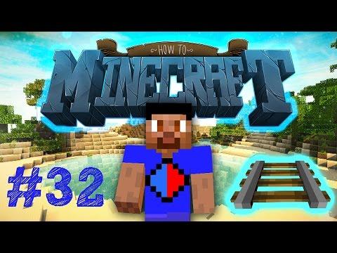Minecraft SMP: HOW TO MINECRAFT #32 'RAILROAD!' with Vikkstar