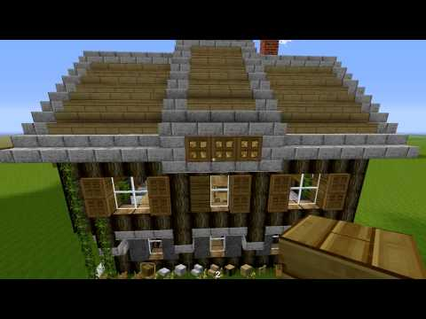 D coration de la maison comment faire une maison moderne for Maison moderne minecraft xbox one