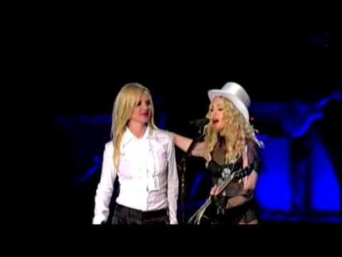 """Britney Spears & Madonna - """"Human Nature"""" LIVE @ the Sticky and Sweet Tour"""