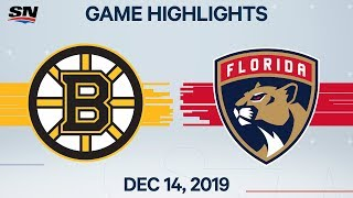 NHL Highlights | Bruins vs Panthers – Dec. 14, 2019 by Sportsnet Canada