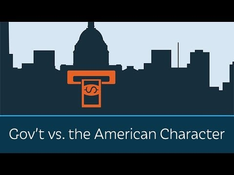 character - Over the past 50 years, the purpose of the American government has radically transformed. Whereas its main goal in domestic matters used to be to protect liberty, it is now an entitlements...