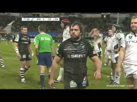 Brive Duo Suspended For Punch And Kick Vs London Irish (2009)