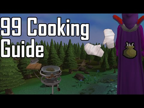 Runescape 1-99 Cooking Guide [P2P] - ALL Methods Quick & Easy 99 On Runescape 3