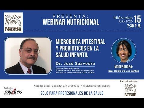 WEBINAR NUTRICIONAL: Microbiota intestinal y probióticos en la salud infantil