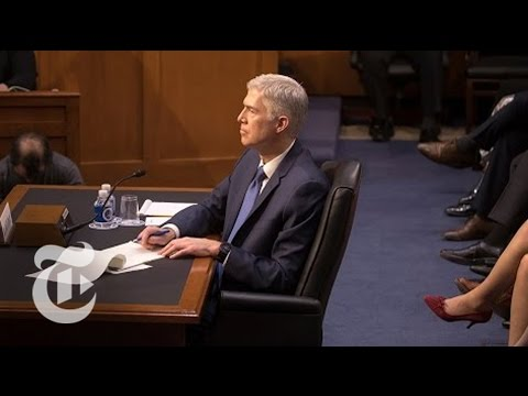 Gorsuch Hearings, Day 2 | The New York Times (видео)