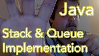 Your contributions made this content possible!https://www.patreon.com/EE_EnthusiastIn the second video of our Java Development series, we are looking at Stacks & Queues. Both implementations are done with the aid of the Linked List we saw in the previous tutorial.We go over both data structures and follow-up with an example of how a stack can be used to reverse a String through the use of push() and pop() functions.Get in touch:Facebook: https://www.facebook.com/EEEnthusiastTwitter: https://twitter.com/EE_EnthusiastWebsite: http://eeenthusiast.comGitHub: https://github.com/VRomanov89Personal website: http://vladromanov.comSoftware:https://github.com/VRomanov89/EEEnthusiast/tree/master/04.%20Java%20Development%20TutorialsRelevant Links:Linked List Tutorial: https://www.youtube.com/watch?v=uijdYLYAc1UQueue Wiki: https://en.wikipedia.org/wiki/Queue_(abstract_data_type)Stack Wiki: https://en.wikipedia.org/wiki/Stack_(abstract_data_type)Relevant Search Terms:EEEnthusiast, Vlad Romanov, Volodymyr Romanov, java stacks and queues, java stacks explained, java stacks explained, java stack and queue, java stack and queue, java stack example, java linked list stack, java stack class, java queue implementation, java queue linked list, java queue linked list, java queue example, java queue from scratch