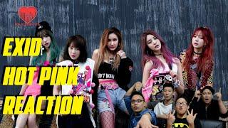 [4LadsReact] EXID(이엑스아이디) - HOT PINK 핫핑크 MV Reaction