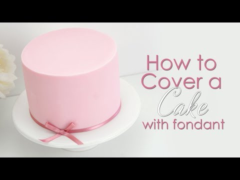 How To Prepare & Cover A Cake With Icing / Fondant
