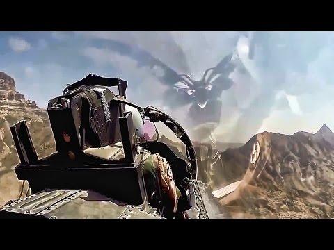 F-15 maniobras a traves de los canyones de el COLORADO Vision desde la carlinga