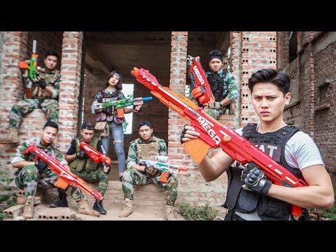 LTT Nerf War : Squad SEAL X Warriors Nerf Guns Fight Criminal Group Rescue People